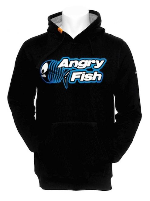 Angry Fish Square Hoodie